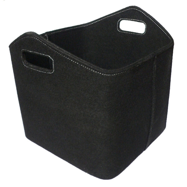Filzkorb schwarz