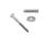 Schlüsselschraube 10mm inkl. Scheibe, Dübel Edelstahl