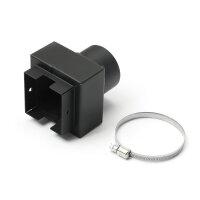Anschluss Gebläse/Rohr Ø 60mm für MCZ...