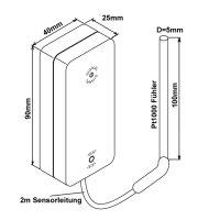 Broko BL220TEMP(SG) Funk-Temperatursensor, DIBt zugelassen