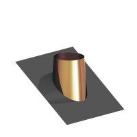 Dacheindichtung Kupfer mit Bleiflansch