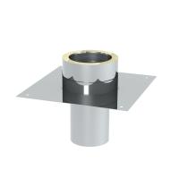 Grundplatte für Kaminerhöhung, L=250 mm der...