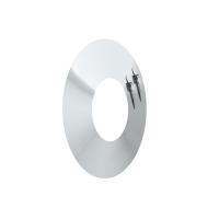 Wandrosette 150 mm Randbreite für der PROFI Edelstahl
