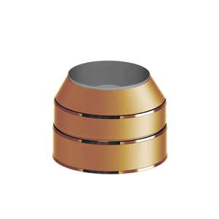 Mündungselement konisch der PROFI Kupfer