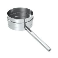 """Kondensatschale mit Ablaufrohr L=250mm. 1/2"""" Nippel..."""