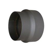 Ofenrohr Erweiterung Erw. 150 mm auf 180 mm, gussgrau