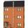 Edelstahlschornstein Edelstahlkamin doppelwandig Bausatz der PROFI-plus 8,30 m