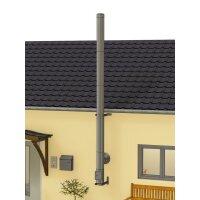 Edelstahlschornstein Bausatz doppelwandig DESIGN 5,30 m