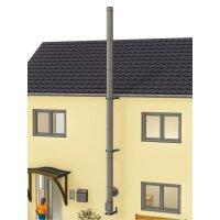 Edelstahlschornstein Bausatz doppelwandig DESIGN 7,30 m