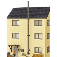 Edelstahlschornstein Bausatz doppelwandig DESIGN 9,30 m
