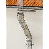 Versatz-Bogen-Set 30° für der PROFI, Versatz 450 mm