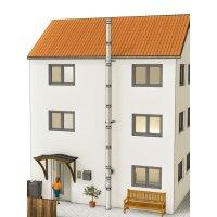 Edelstahlschornstein doppelwandig Bausatz, Bodenmontage...