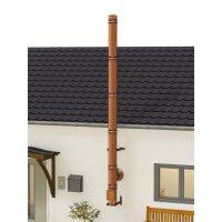 Kupferschornstein Bausatz doppelwandig der PROFI 5,30 m