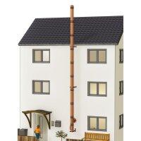 Kupferschornstein Bausatz doppelwandig der PROFI 9,30 m