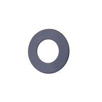 Wandrosette 90 mm für Ofenrohr