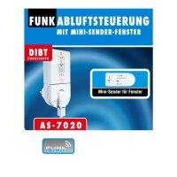 Funk-Abluftsteuerung PRO, mit kabelloser...