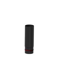 Pelletrohr SlimLine  250 mm lang schwarz