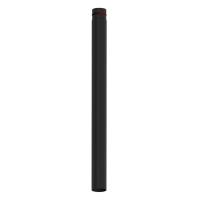 Pelletrohr SlimLine 1000 mm lang schwarz