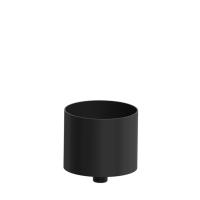 Pelletrohr SlimLine Rußfang / Kondensatschale schwarz